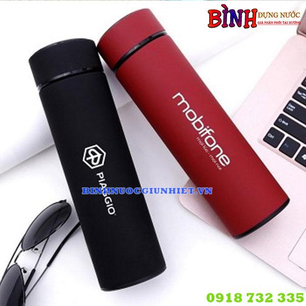 Bình giữ nhiệt in logo mobifone