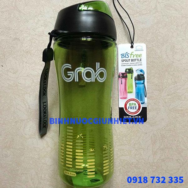 Bình nước nhựa in logo làm quà tặng