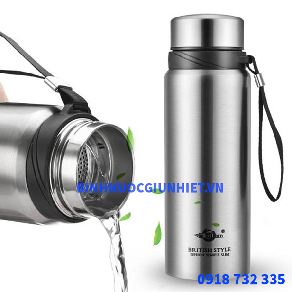 Bình nước giữ nhiệt inox 304 dung tích 600ml-800ml