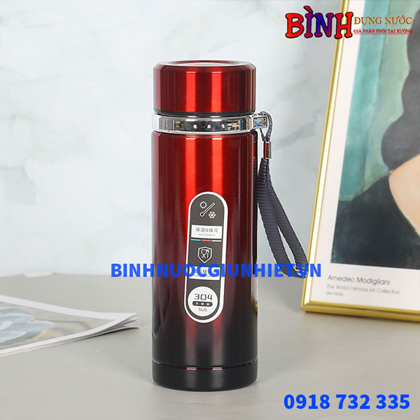 Bình giữ nhiệt inox nhiều màu sắc BGN-051