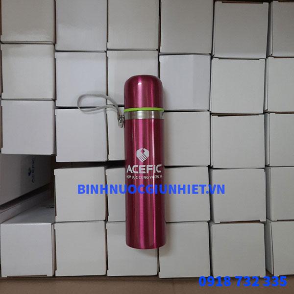 Bình giữ nhiệt in logo quà tặng khách hàng