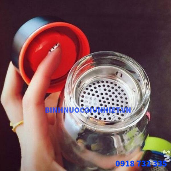 Bình nước thủy tinh món quà tặng doanh nghiệp giá rẻ
