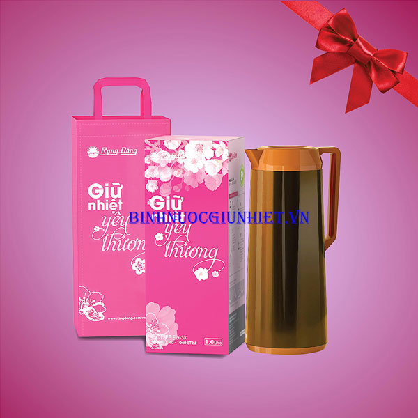 Thermos bottle for gifts